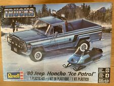 "+++ Revell US Monogram 1:24 ´80 Jeep Honcho 2Ice Patrol"" Model Kit 85-7224"