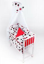 3in1 Babybett Beistellbett Vollausstattung Matratze Stubenbett Minnie Mouse Neu