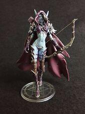 World of Warcraft Forsaken Queen Sylvanas Windrunner Figure Figurine (No Box)