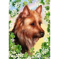 Clover Garden Flag - Australian Terrier 312031