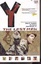 Y The Last Man - Vol 01 Unmanned by Brian K. Vaughan P/B