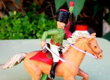 BRITAINS DEETAIL - NAPOLEONIC WATERLOO - MOUNTED FRENCH CHASSEURS A CHEVAL