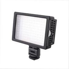 HD-160 160 LED Video Light Lamp Hot Shoe For Canon Nikon DSLR Camera Camcorder