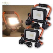 LED Baustrahler 30/50W 230V 4000K Baulicht-Scheinwerfer tragbar Arbeitsleuchte