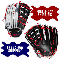 """2020 WILSON A2000 SP135 MODEL 13.5"""" OUTFIELD SLOWPITCH SOFTBALL GLOVE"""