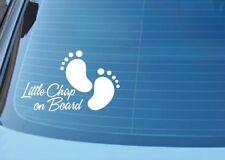 Baby On Board Child Children Window or Bumper Sticker / Decal in cut vinyl..