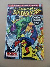 Amazing Spider-Man 120  . Vs. Hulk  . Marvel 1973 . FN +