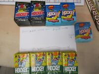Topps & Bowman 1990-1992 69 Hockey Card Sealed Unopened Packs See Pictures !!!