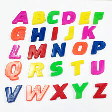 26pcs Lower/Upper Case ALPHABET LETTERS Magnetic Fridge Baby Kids Learning Toys