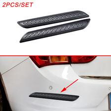 Exterior Rubber Anti Collision Edge Scratch Strips Cover Trim Universal Parts 2X