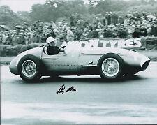 Sir Stirling Moss AUTHENTIC SIGNED Vintage Formula 1 Legend 10x8 Photo AFTAL COA