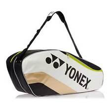 Yonex Sports Badminton Pratique 6 Raquette Sac PP08-bkrd Black/Gold