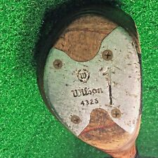 Vintage Wilson 4325 Wood Head Driver Men's Right-Handed Golf Club Regular
