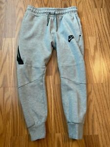 Boys NIKE gray sweats sweatpants sz small Nice