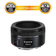 Canon EF 50mm F/1.8 Standard AutoFocus STM Lens