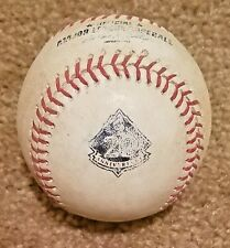 Jorge De La Rosa Jdlr vs Jhonathan Solano Game Used Baseball Mlb Coa 20th Anniv