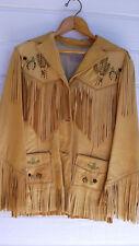 Vintage deerskin jacket 1950's