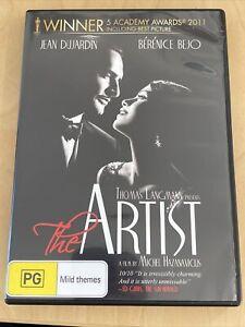 The Artist (DVD, 2011) Like New Condition Region 4 Jean Dujardin