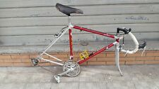 Vintage 80's Alan Record road bike without wheels