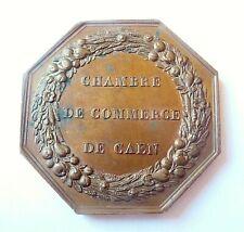 jeton CHAMBRE DE COMMERCE DE CAEN 1848