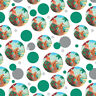 Christmas Santa Claus Beach Vacation Premium Gift Wrap Wrapping Paper Roll