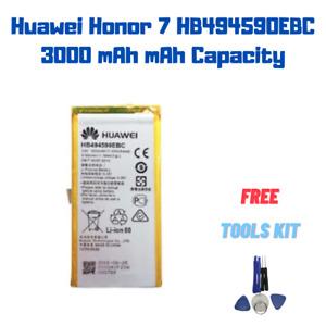 OEM Original Battery For Huawei Honor 7 HB494590EBC 3000 mAh Akku Original IC