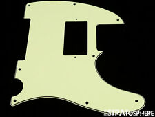 *NEW Mint Green HUMBUCKER Telecaster PICKGUARD for USA Fender Tele 3 Ply 8 Hole