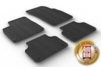 Design Passform Gummimatten Gummi Fußmatten mit Rand Audi Q7 & SQ7 4M ab 06.2015