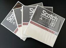 4 NEW SEALED Lot SCOTCH DynaRange Series 203 reel to reel tapes