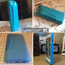 iPhone5, SE  Rugged High Impact Acoustic Enhancement Ballistic Shell Blue Case