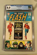 CGC 8.0 WHITE PAGES 80 Pg Page Giant 9 1965 Flash Gorilla Grodd SA GA Pied Piper