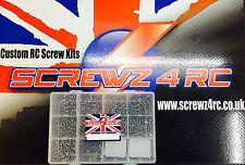 Stainless Steel screw kits, TLR, Associated, Yokomo, Xray, Schumacher, Kyosho