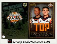 2011 NRL Strike Top Tryscorer TS16 Marshall / Ayshford (Tigers) + Predictor Card