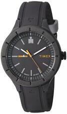 """Timex TW5M16900, """"Ironman Essential"""", Indiglo, Black Resin Watch, 100 Meter WR"""