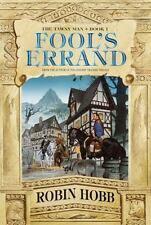 Tawny Man Trilogy: Fool's Errand Bk. 1 by Robin Hobb (2002, Hardcover)