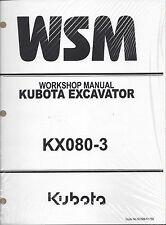 Kubota KX080-3 Workshop Service Repair Manual 97899-61730