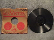 "78 RPM 10"" Record Fran Warren Who Cares I Almost Lost My Mind RCA Victor 20-3686"