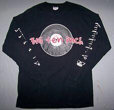 AEROSMITH BIG TEN INCH 10'' 2003 / VINYL IMAGE  LONG SLEEVE SHIRT BLACK SIZE XL