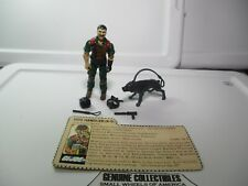 """Vintage"" GI Joe MUTT Figure+JUNKYARD Dog+Accessories K-9 Dog Handler Complete!"