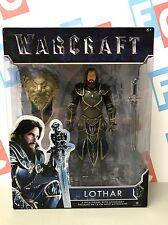 "Jakks Pacific Warcraft Movie 6"" Lothar Figure World of Warcraft Stormwind Knight"