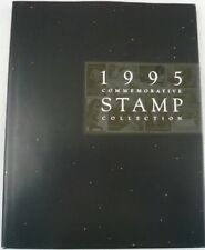 1995 Commemorative Stamp Collection Yearbook USPS Mint Set Album with STAMPS