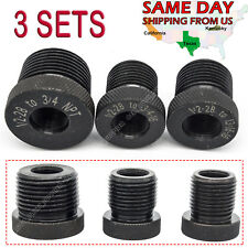 1/2 28 3/4 16 13/16 16 3/4 NPT Threaded Oil Filter Adapter Solvent Trap Frame
