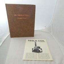 Dr Nikola Tesla Complete Patents Drawings John Ratzlaff 1983 NEW + Tesla Coil