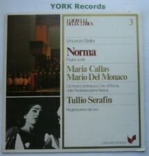 GML 3 - BElLINI - Norma highlights SERAFIN / CALLAS / DEL MONACO - Ex LP Record