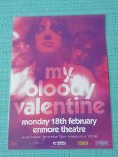 MY BLOODY VALENTINE - 2013 AUSTRALIA TOUR POSTER - LAMINATED POSTER - SYDNEY!