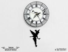 Tinker Bell  Swinging on the Big Ben - Pendulum Wall Clock