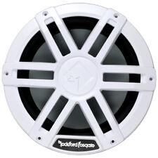 "Rockford Fosgate M1D2-10 10"" Dual 2-Ohm Marine Audio Subwoofer RGB LED - White"