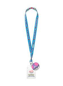Nintendo Pokemon Go Pokeball Types ID Pin Lanyard Rubber Master Poke Ball Charm