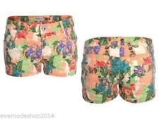 Markenlose geblümte Damen-Shorts & -Bermudas S
