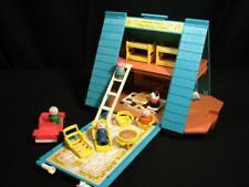 RETRO Fisher Price Little People MERRY GO ROUND SCHOOL 50th Anniversary Edition
